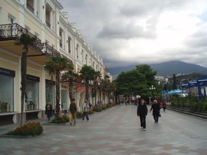 Yalta embankment